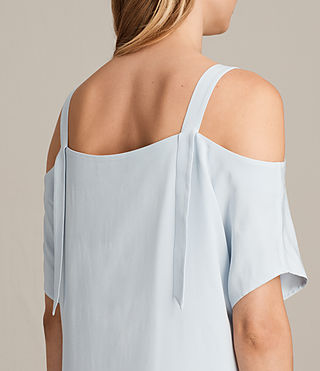 Womens Rae Dress (Cloud Blue) - product_image_alt_text_6