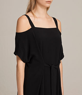 Femmes Rae Dress (Black) - product_image_alt_text_2