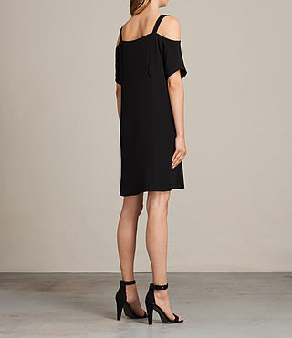 Femmes Rae Dress (Black) - product_image_alt_text_7