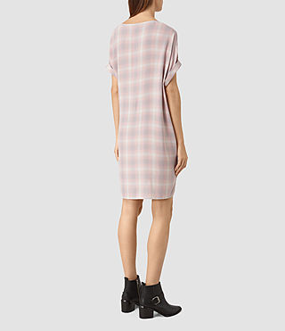 Donne Sonny Check Dress (Pink Check) - product_image_alt_text_5