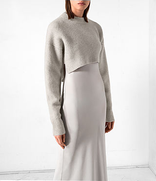 Mujer Vestido Naomi (Pebble Grey) - product_image_alt_text_2