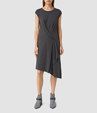 Mujer Breeze Devo Dress (COAL BLACK)