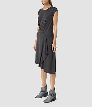 Womens Breeze Devo Dress (COAL BLACK) - product_image_alt_text_3