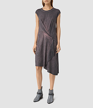 Damen Breeze Devo Dress (DARK PINK)