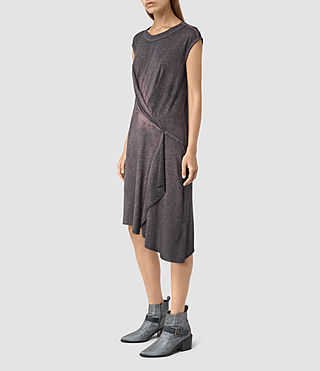 Womens Breeze Devo Dress (DARK PINK) - product_image_alt_text_3