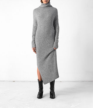Damen Satellite Dress (Grey)