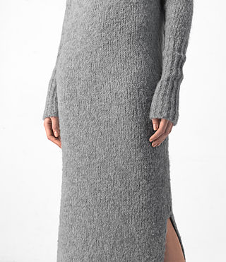 Damen Satellite Dress (Grey) - product_image_alt_text_3