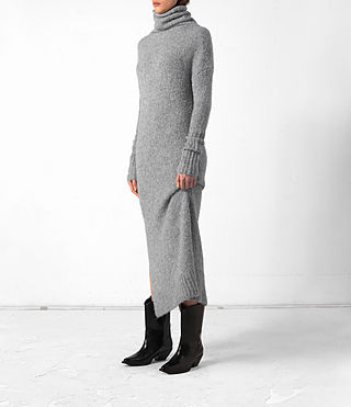 Damen Satellite Dress (Grey) - product_image_alt_text_4