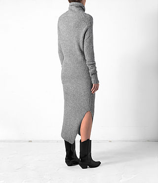 Damen Satellite Dress (Grey) - product_image_alt_text_5
