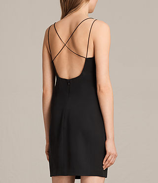 Womens Cara Dress (Black) - product_image_alt_text_6