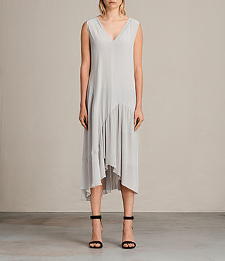 arla pleat dress