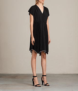 Damen Myer Dress (Black) - Image 3