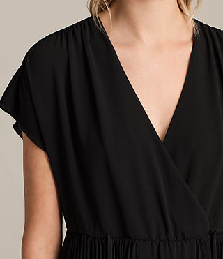 Damen Myer Dress (Black) - Image 4