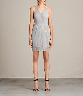 Women's May Dress (Stone Grey) -