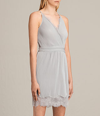 Women's May Dress (Stone Grey) - Image 3