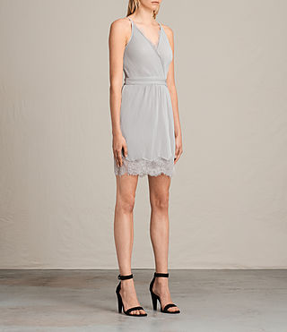Women's May Dress (Stone Grey) - Image 5