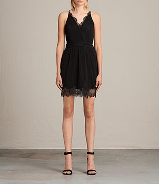 Damen May Dress (Black) - Image 1