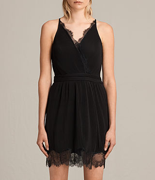 Damen May Dress (Black) - Image 3