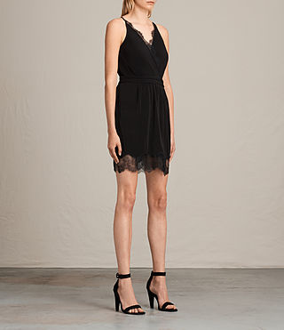 Damen May Dress (Black) - Image 4