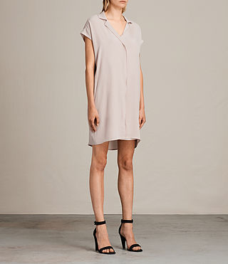 Women's Via Dress (NUDE PINK) - product_image_alt_text_3