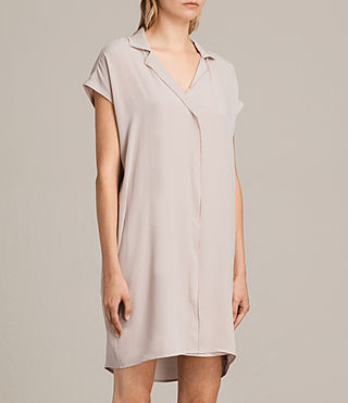 Women's Via Dress (NUDE PINK) - product_image_alt_text_4
