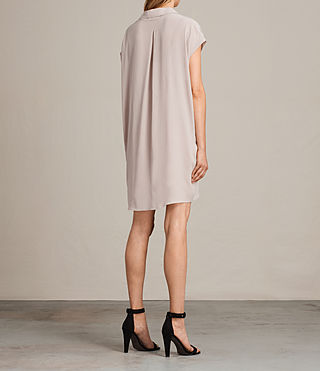 Women's Via Dress (NUDE PINK) - product_image_alt_text_7