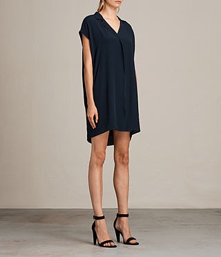 Women's Via Dress (MYSTIC BLUE) - product_image_alt_text_3