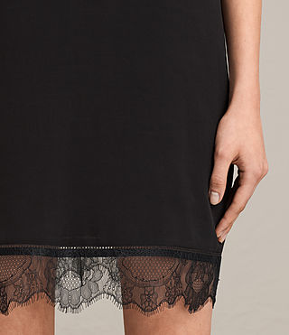 Womens Camia Lace Dress (Black) - product_image_alt_text_4