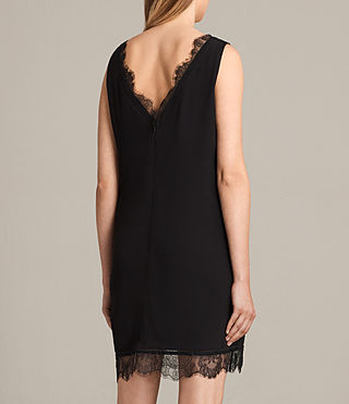 Women's Camia Lace Dress (Black) - product_image_alt_text_7