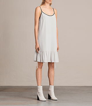 Mujer Elima Dress (SOAP GREY) - product_image_alt_text_3