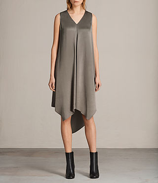 Womens Blaze Dress (SILVER GREEN) - Image 1