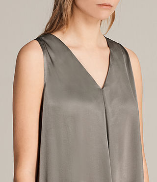 Womens Blaze Dress (SILVER GREEN) - Image 4