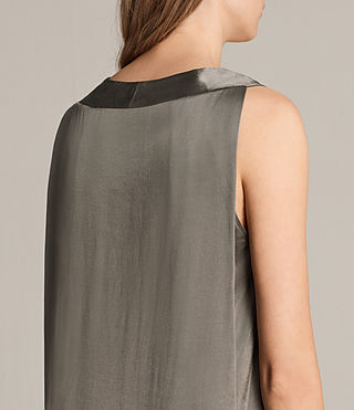 Womens Blaze Dress (SILVER GREEN) - Image 5
