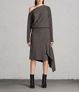 Women's Eva Dress (Doe Marl) - Image 1