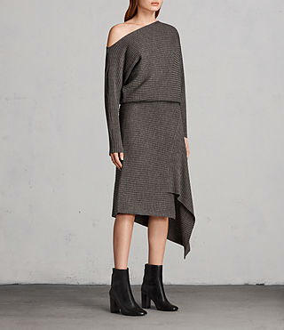 Women's Eva Dress (Doe Marl) - Image 3