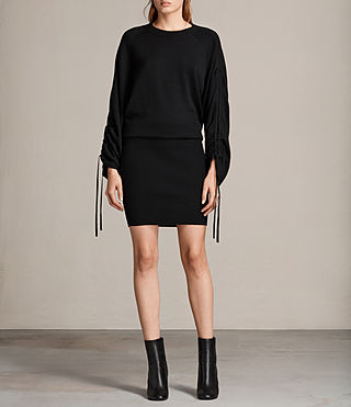 Women's Ero Dress (Black) - Image 1