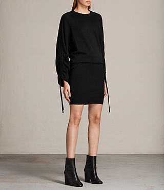 Women's Ero Dress (Black) - Image 3