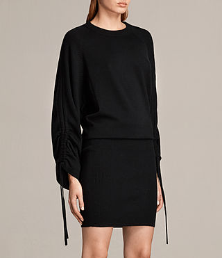 Women's Ero Dress (Black) - Image 5