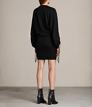 Women's Ero Dress (Black) - Image 7