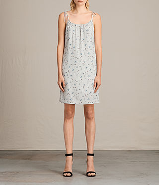 Women's Mika Sommer Dress (SOAP GREY) - Image 1