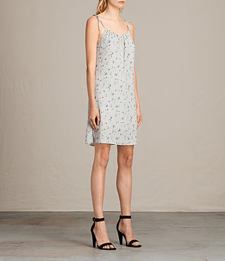 Women's Mika Sommer Dress (SOAP GREY) - Image 4