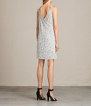 Women's Mika Sommer Dress (SOAP GREY) - Image 6