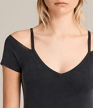 Women's Boast Dress (Washed Black) - product_image_alt_text_2