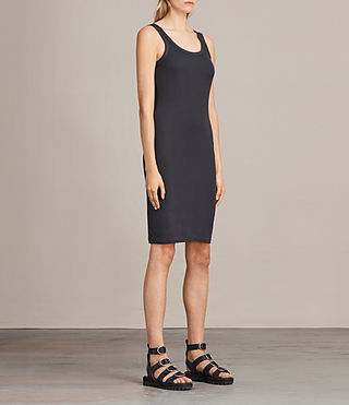 Women's Isabel Dress (Washed Black) - Image 3