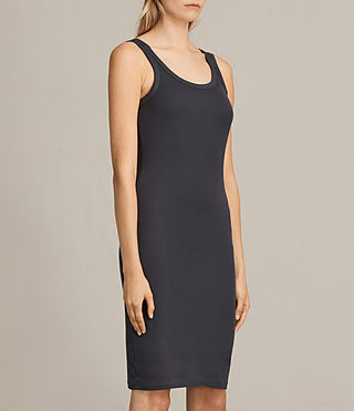 Women's Isabel Dress (Washed Black) - Image 4