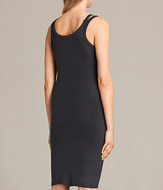 Women's Isabel Dress (Washed Black) - Image 5