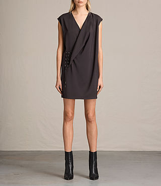 Donne Aures Dress (ANTHRACITE GREY)