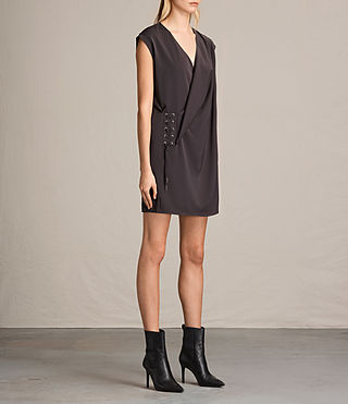Mujer Aures Dress (ANTHRACITE GREY) - product_image_alt_text_3