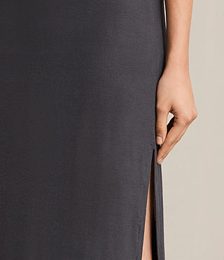 Femmes Isabel Long Dress (Washed Black) - product_image_alt_text_6