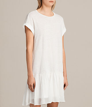 Women's Jody Jersey Dress (Chalk White) - product_image_alt_text_5